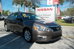 certified used 2015 Nissan Altima 4dr Sdn I4 2.5 S Car for sale in Ft Lauderdale
