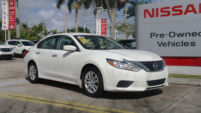 certified used 2016 Nissan Altima 4dr Sdn I4 2.5 S Car for sale in Ft Lauderdale