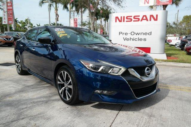 Pre-Owned Featured 2016 Nissan Maxima 4dr Sdn 3.5 S Car for sale near you in Davie, FL