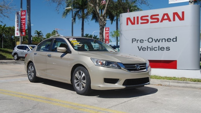 used 2013 Honda Accord 4dr I4 CVT LX Car for sale in Ft Lauderdale