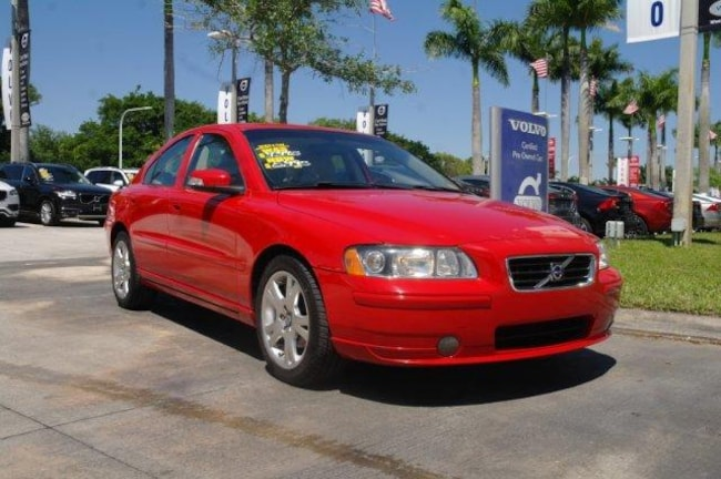 used 2007 Volvo S60 2.5L Turbo Car for sale in Ft Lauderdale