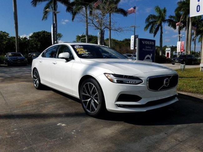 Used 2018 Volvo S90 T5 FWD Momentum Car in Davie, FL