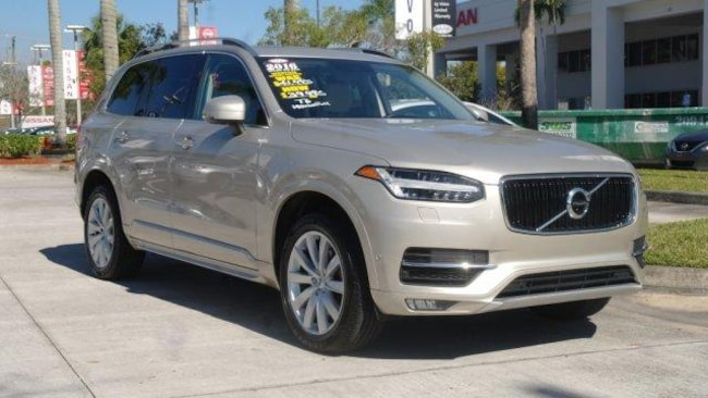used 2016 Volvo XC90 AWD 4dr T6 Momentum Sport Utility for sale in Ft Lauderdale
