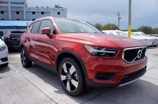New 2019 Volvo XC40 T4 Momentum SUV K052823 for sale/lease near Ft. Lauderdale, FL