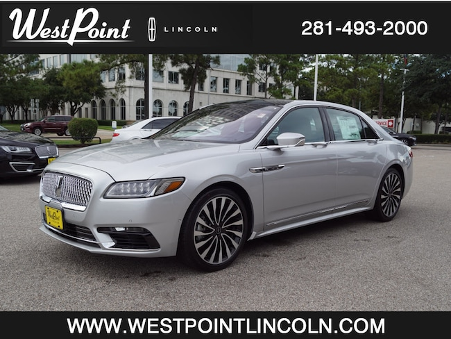 2018 Lincoln Continental Black Label Black Label  Sedan