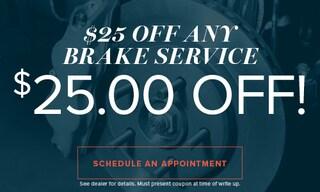 $25 Off Any Brake Service