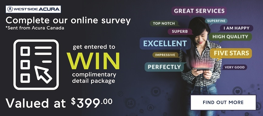 Complete Our Online Survey and get a chance to WIN!