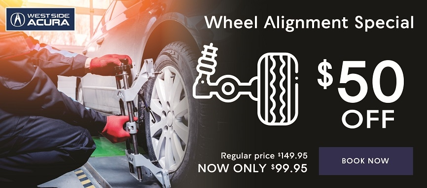 $50 Off Wheel Alignment