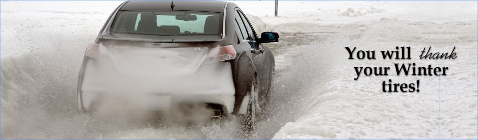 Winter Tires For Your Acura In Edmonton, AB