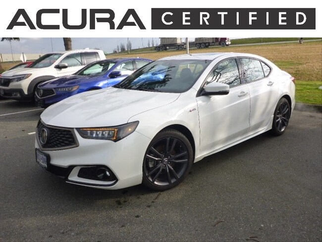 2018 Acura TLX Elite A-Spec | Certified Pre-Owned Car