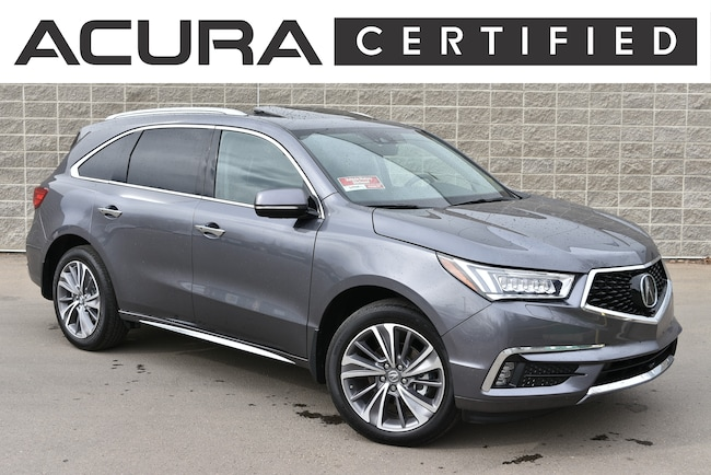2018 Acura MDX AWD Elite | Certified Pre-Owned Sport Utility
