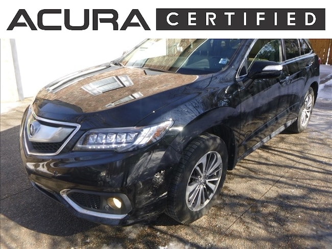 2016 Acura RDX AWD Elite | Certified Pre-Owned Sport Utility