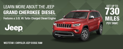 Jeep Grand Cherokee EcoDiesel | WestStar Chrysler Jeep Dodge