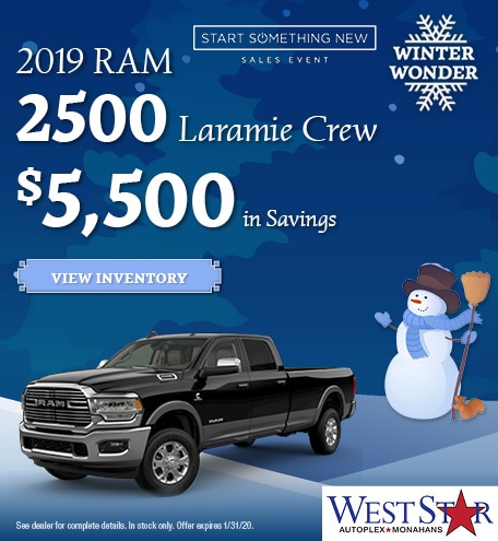January 2019 RAM 2500 Laramie Crew