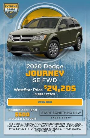January 2020 Dodge Journey SE FWD