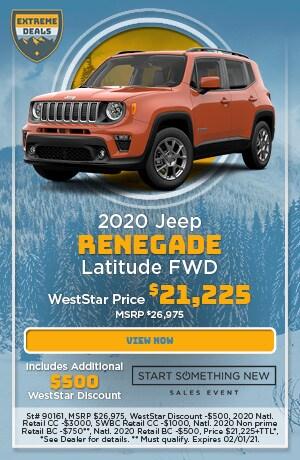 January 2020 Jeep Renegade Latitude FWD