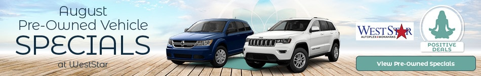 August Pre-Owned Vehicles