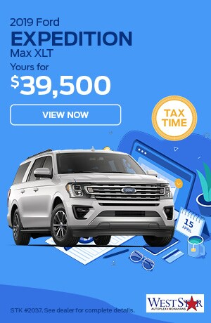 March 2019 Ford Expedition