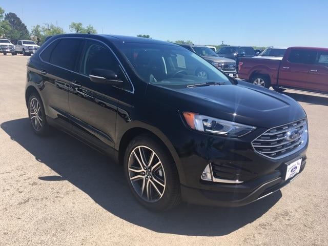 New 2019 Ford Edge Titanium SUV in Anson, TX