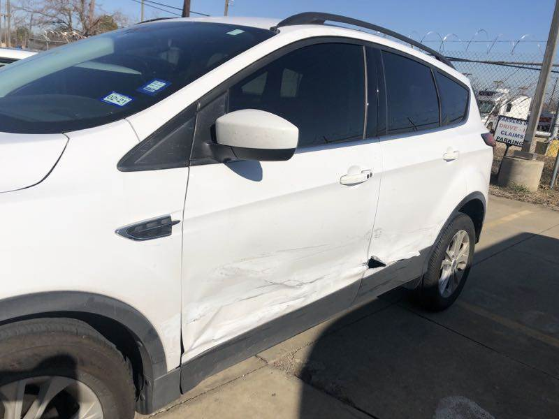 SUV Body Damage