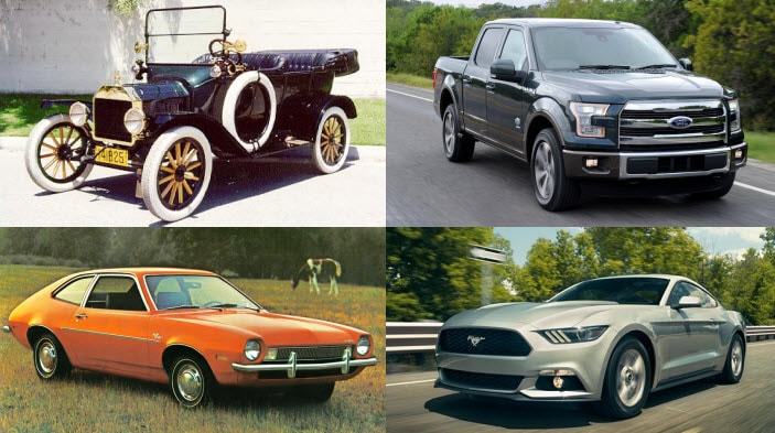 Top Selling Ford Models Over the Years
