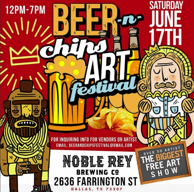 Beer & Chips Art Festival Dallas