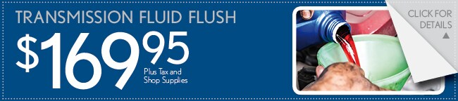 Transmission Flush Coupon, Las Colinas