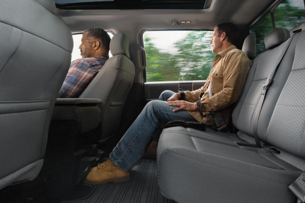 2018 Ford F-150 Rear Seat Double Cab
