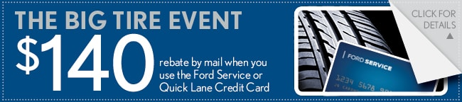 Big Tire Event Coupon, Las Colinas
