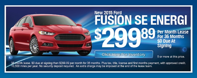 New Ford Fusion Energi Lease Special, Irving, Las Colinas, Texas