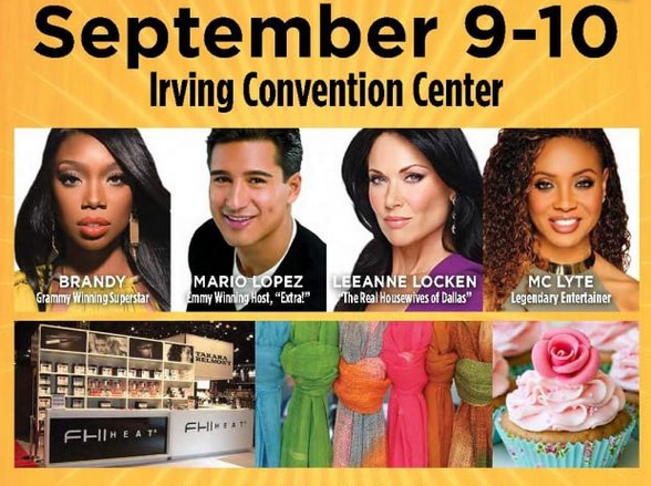Ultimate Women's Expo in Irving, Texas