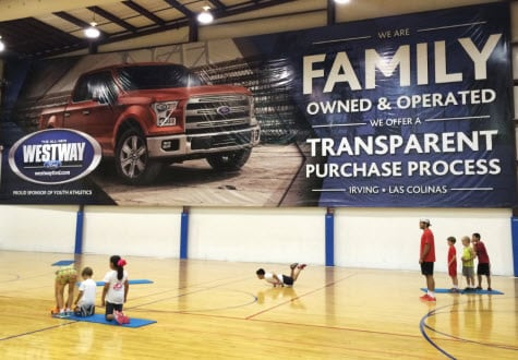 Westway Ford Supports The Sportsplex; Unveils New Banners & Ford Car Sales u0026 Service Irving TX | Ford Dealers Serving Fort ... markmcfarlin.com