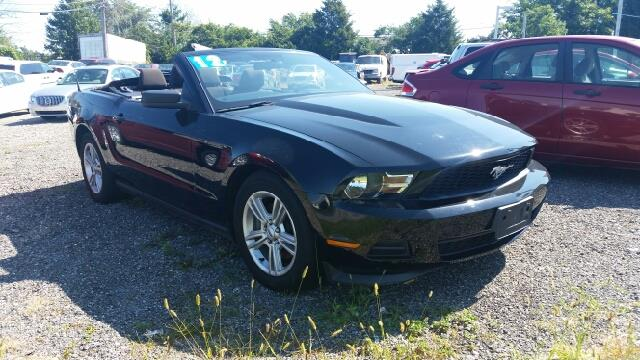 2012 Ford Mustang V6 Premium Convertible