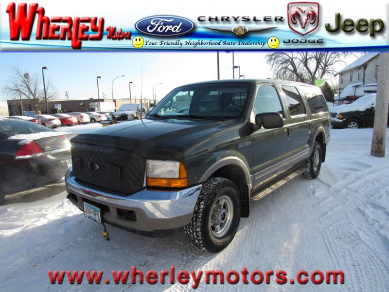 2000 Ford Excursion Limited Limited SUV