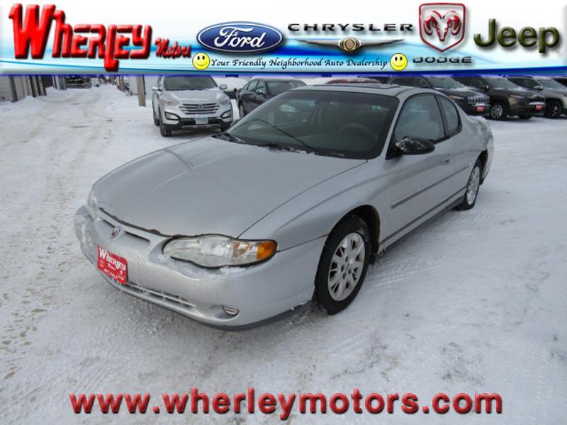 2003 Chevrolet Monte Carlo LS LS  Coupe