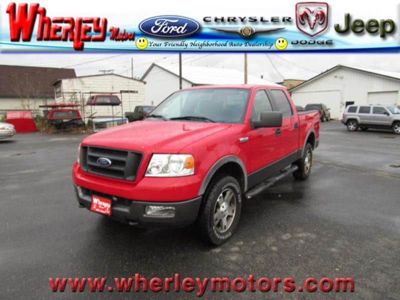2005 Ford F-150 Crew Cab Short Bed Truck