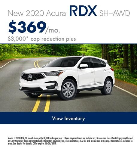November 2020 RDX Lease