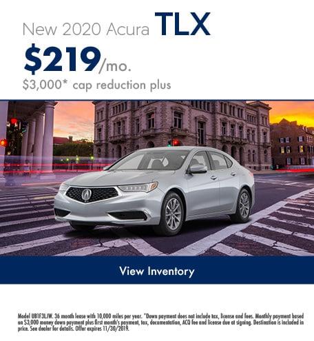November 2020 TLX Lease