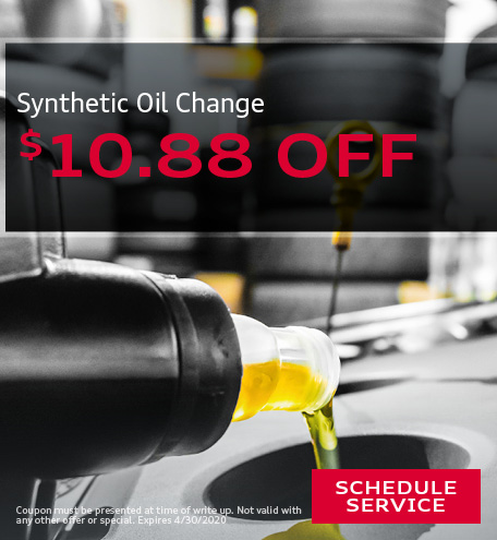 Synthetic Oil/ Change