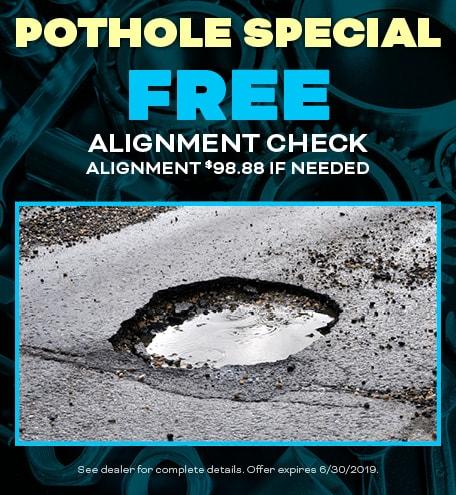 FREE Pothole Special
