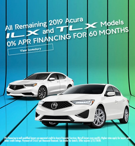 2019 ILX and TLX 0% APR