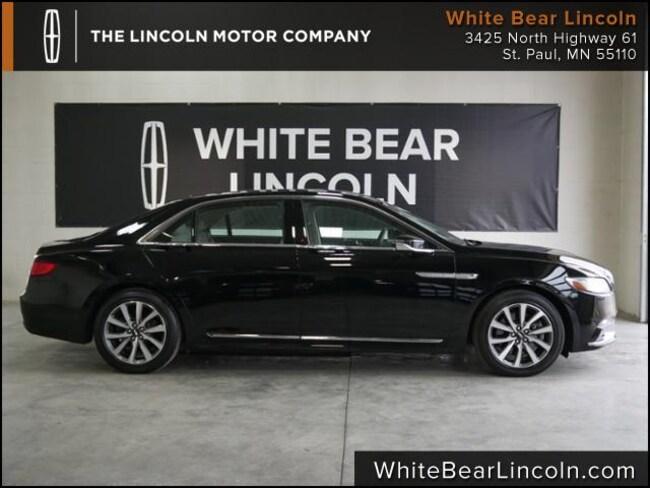 2017 Lincoln Continental Premiere Sedan