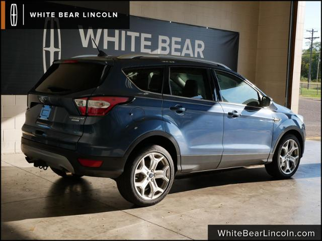 Used 2018 Ford Escape Titanium with VIN 1FMCU0J95JUB44566 for sale in Saint Paul, Minnesota