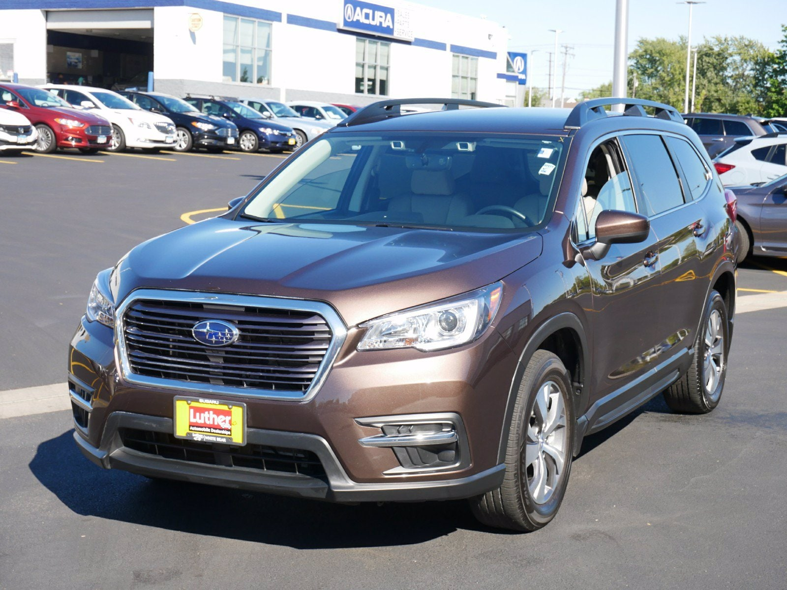 Used 2020 Subaru Ascent Premium with VIN 4S4WMAFD2L3447913 for sale in Vadnais Heights, Minnesota