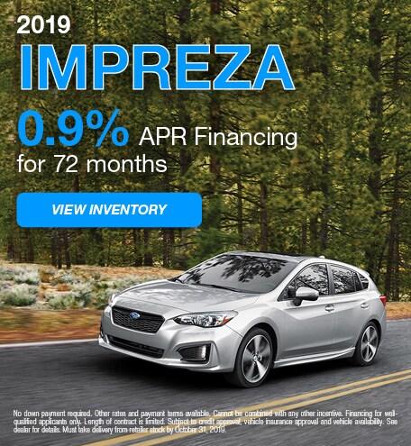October 2019 Impreza APR