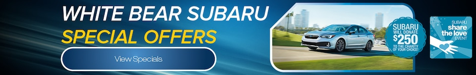 White Bear Subaru Special Offers