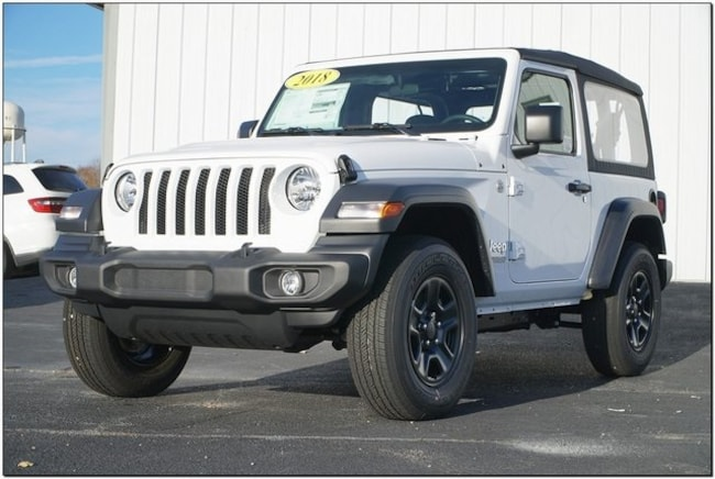 New 2018 Jeep Wrangler SPORT 4X4 Sport Utility In Roanoke Rapids