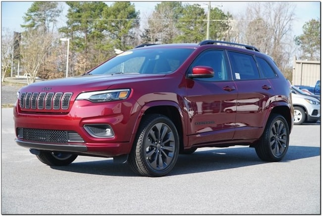 New 2019 Jeep Cherokee HIGH ALTITUDE FWD Sport Utility Roanoke Rapids