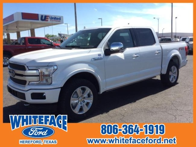 2018 Ford F-150 Platinum 4WD Supercrew 5.5 Box Crew Cab Pickup