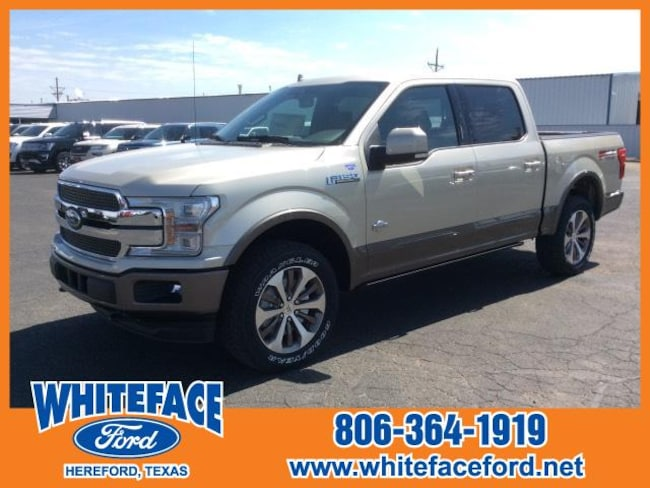 2018 Ford F-150 King Ranch 4WD Supercrew 5.5 Box Crew Cab Pickup